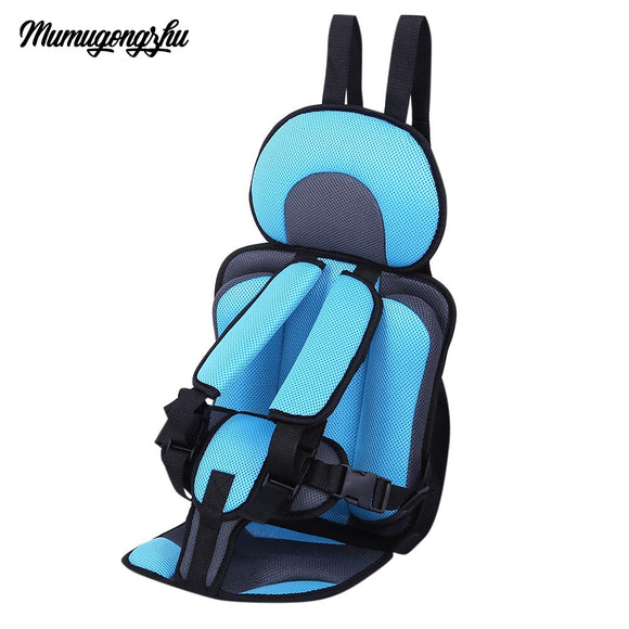 Mumugongzhu Kids Safety Thickening Cotton Adjustable Children Car Seat - goldylify.com