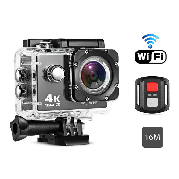 Remote Control 4K Waterproof Action Camera for Sports - goldylify.com