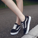 Autumn new women's single shoes Korean fashion student sports running shoes wild female flat bottom - goldylify.com