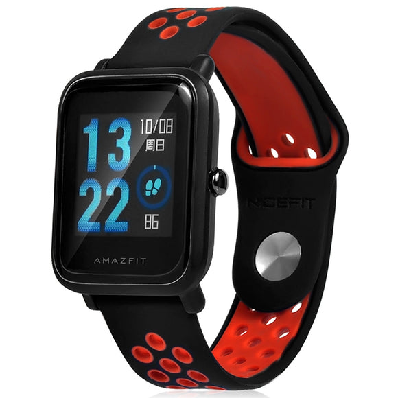 20mm Silicone Wrist Watch Band Strap for AMAZFIT Youth Ed. - goldylify.com