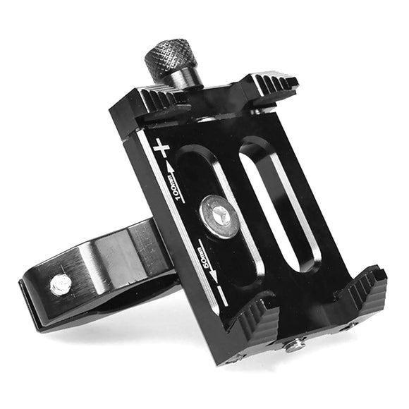 Quelima Universal Motorcycle Phone Holder Handlebar Aluminum Alloy Bicycle GPS Support Bike Accessories - goldylify.com