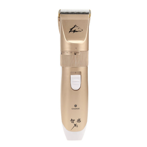 Zhigan X5 Electric USB Animal Pets Shaver Hair Trimmer Intelligent Razor - goldylify.com