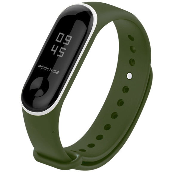 Dual Color Anit-lost Watch Strap Watchband for Xiaomi Mi Band 3 - goldylify.com