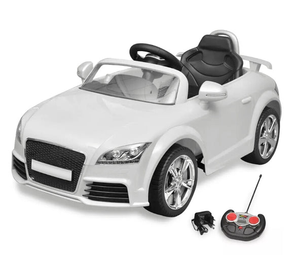 Audi TT RS Ride-on Car for Children with Remote Control White 10087 - goldylify.com
