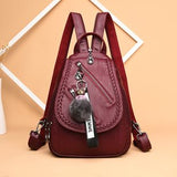 Joker shoulder bag casual soft leather travel bag chest bag - goldylify.com