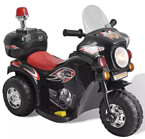 vidaXL Kid Electric Motocycle Black 80086 - goldylify.com
