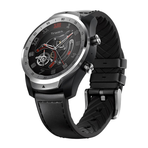 Ticwatch Pro 1.4 inch Bluetooth Sports Smart Watch IP68 Waterproof  Built-in GPS NFC Heart Rate Monitor from XiaoMi YouPin - goldylify.com