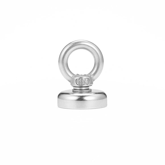 Strong Neodymium Pot Magnet with Hanging Ring