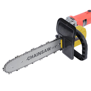 "11.5"" Electric Chainsaw Stand Bracket Set Woodworking Cutting Tools for 100 / 115 / 125 / 150 Angle Grinder - goldylify.com"