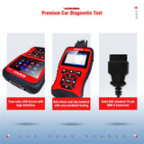 JD906 OBD2 Diagnostic Scanner Read and erase fault codes With Core Analysis