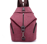 Canvas handbag retro casual college wind backpack fashion Korean handbag casual versatile shoulder bag - goldylify.com