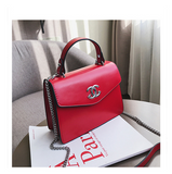 Senior sense small bag female 2020 new foreign gas Messenger bag net red hook hook small black bag texture retro small square bag - goldylify.com