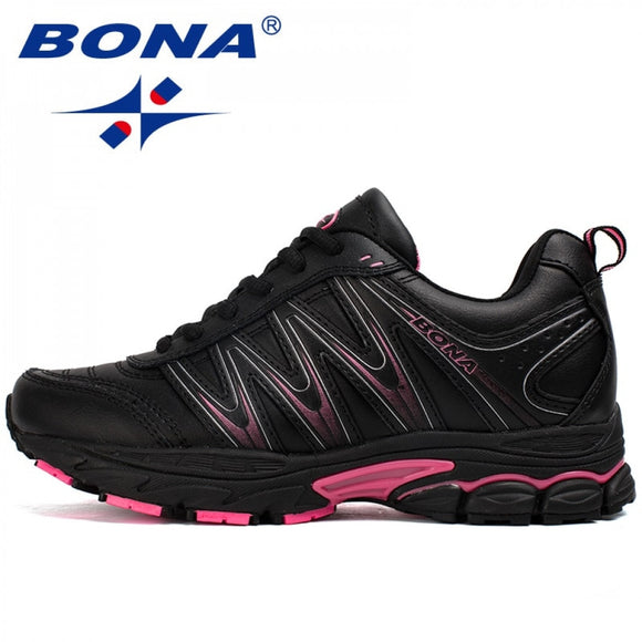 Hot Style Women Running Shoes Lace Up Sport Shoes Outdoor Jogging Walking Athletic Shoes Comfortable Sneakers For Women