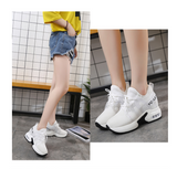 Mesh breathable white shoes - goldylify.com