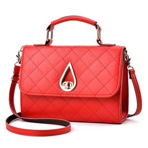 2020 new Korean fashion handbag shoulder bag bag lady square lattice Pu package on behalf of a tide - goldylify.com