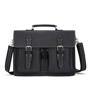Guangzhou men's bag manufacturers retro Crazy Horse Leather Crossbody Bag men men bag wholesale trade - goldylify.com