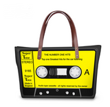 Vintage Cassette Tape Shoulder Bag - goldylify.com