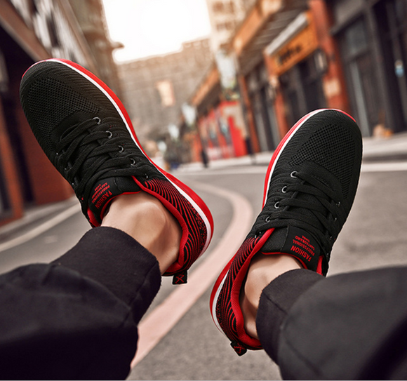 Men's shoes, low net shoes, running cushions, breathable sneakers