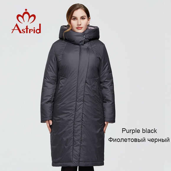 2020 New Winter Women's coat women long warm parka fashion thick Jacket hooded Bio-Down large size