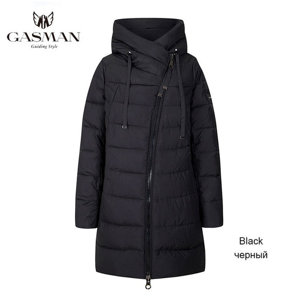 Winter Long Jacket For Women Down Thick Coat Hooded Women Parka Warm Plus Size 6XL