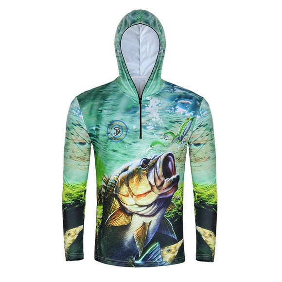SPORTSHUB Ultra-Light Hooded Fishing Clothings Quick Dry Sun Protection Fishing Shirts Anti-UV Fishing Clothes Vest FT0071 - goldylify.com