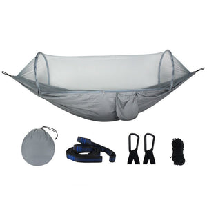 Large Hammock Mosquito Net Portable Outdoor Encryption Mesh Fit All Outdoor Hammock Camping Easily Installed Outdoor Equipment - goldylify.com