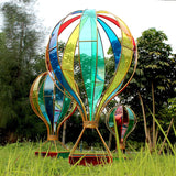 1pcs Wedding props wrought iron foil hot air balloon window decoration decoration shopping mall wedding stage layout pendant - goldylify.com