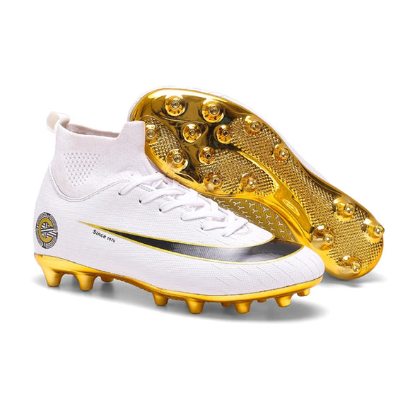 Soccer Boots Indoor Turf Futsal Sneakers TF & Long Spikes Men Shoes Soccer Cleats Original Football Sports Shoes for Women Men - goldylify.com