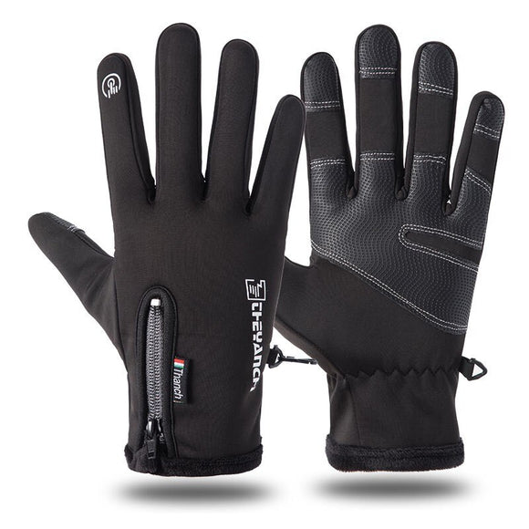 Winter Touch Screen Men's Ski Gloves Warm Rainproof Riding Full Finger Snowboarding Bike Cycling Sports Thermal Mitten Glove - goldylify.com