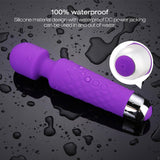 Factory direct silicone female masturbation devices, wireless vibrator sex toy for women mini wand massager