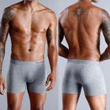 4 Piece Boxershorts Men Boxers Cotton Panties Man Underwear Men Sexy Under Wear Men's Underpants Male Boxer Gay 9xl Lot Long Top - goldylify.com