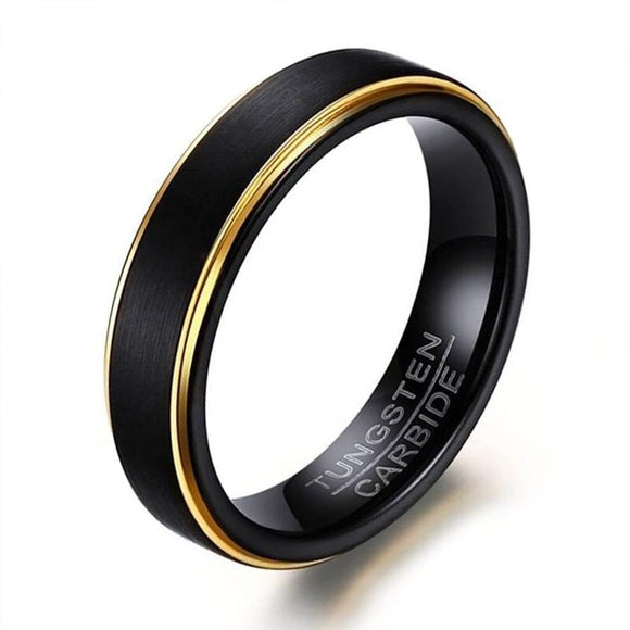 Wholesale 5MM Women Tungsten Carbide Rings Durable Eternal Anniversary Engage Alliance Size 6 to 12 - goldylify.com