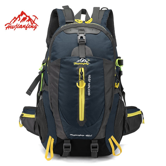 Waterproof Climbing Backpack Rucksack 40L Outdoor Sports Bag Travel Backpack Camping Hiking Backpack Women Trekking Bag For Men - goldylify.com