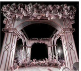 New Sunshine Plate Arch Background Decoration Iron Art Crystal Gate Wedding Stage Decoration Projects Screen - goldylify.com
