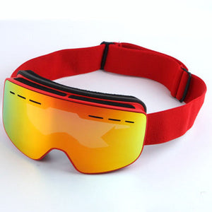 2018 NEW ski goggles double-layer anti-fog mountaineering ski goggles can be equipped with myopia - goldylify.com