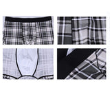 Boxer Men Underwear Clothing Man Cotton Loose Under Wear Plus Size Boxers boxer homme Boxer Underpants Men - goldylify.com