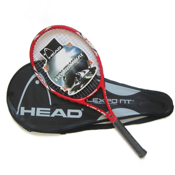 100% Original HEAD Tennis Racket Free With Tennis Bag Top Carbon Fiber Material With Tennis String Fixed For Match And Training - goldylify.com