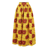Women African Skirt Long Dashiki Print Flared Skirts African Clothes Party African Dresses for Women Robe Africaine