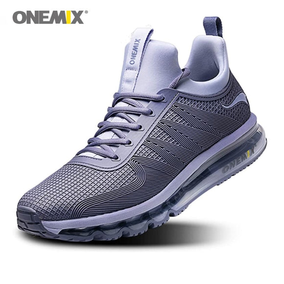Men's Running Shoes High Top Air Cushion Trail Sport Sneakers