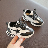 New Baby Unisex Shoes Soft Bottom 1 2 Years Old Baby Toddler Shoes Fashion Sneakers|First Walkers|