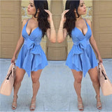 New  Sexy Women Sleeveless Party Dress Evening Casual Mini Dress|Dresses|