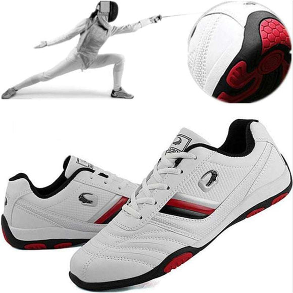 Men professional fencing shoes males Fencing sneakers competition training shoes man slip-resistant lightweight sneakers - goldylify.com