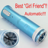 Blue Electric Retractable Male Masturbator Pussy Cup, Piston Fully-automatic Sex Machine, Sex toys for men, Adult Sex toys X-9A - goldylify.com