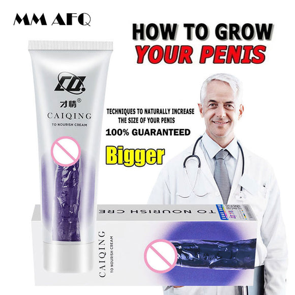 Penis Enlargement Cream Aphrodisiac Erection Nourish for Sex Increase Big Dick Viagra Sexual Products Enlargers Growth Thicken - goldylify.com