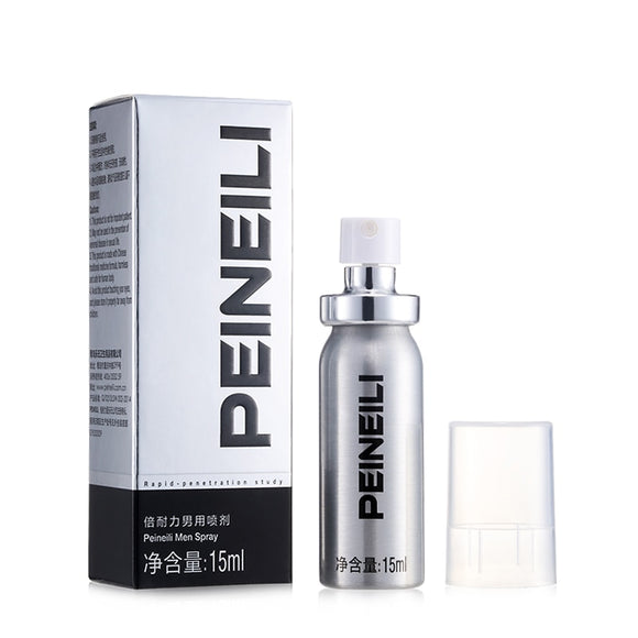 Peineili India Strong Man Viagra Sex Retard Ejaculation Enhancers Aphrodisiac Long Time Sex Delay Spray Erection for Men No Box - goldylify.com