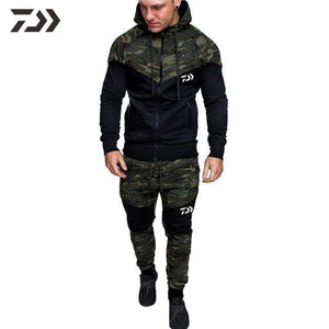 Daiwa Suit for Fishing Suit Men Camouflage Fishing Shirt Long Sleeve In Fishing Clothing Fishing Jacket Pants Sportswear Casual - goldylify.com