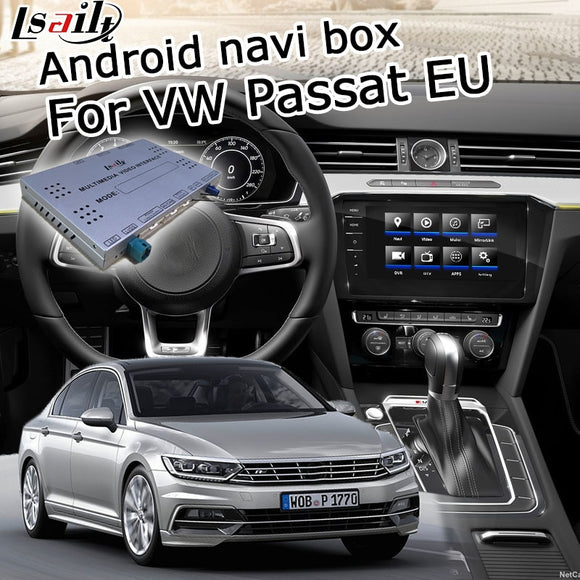 Android / carplay interface box for Volkswagen Passat Tiguan Golf 6.5 8 9.2 discover pro GPS navigation video interface Lsailt - goldylify.com