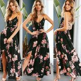 Brand New Style Sexy Women Floral Boho Dress Ladies Evening Party Beach Casual Sundress
