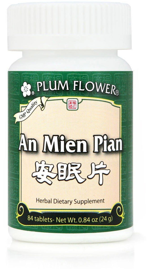 Plum Flower - An Mien Pian Tablets