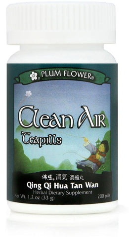 Plum Flower - Clean Air Teapills - Qing Qi Hua Tan Wan (Out of stock)